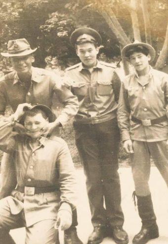 Болатбек Алиев. Армейское фото