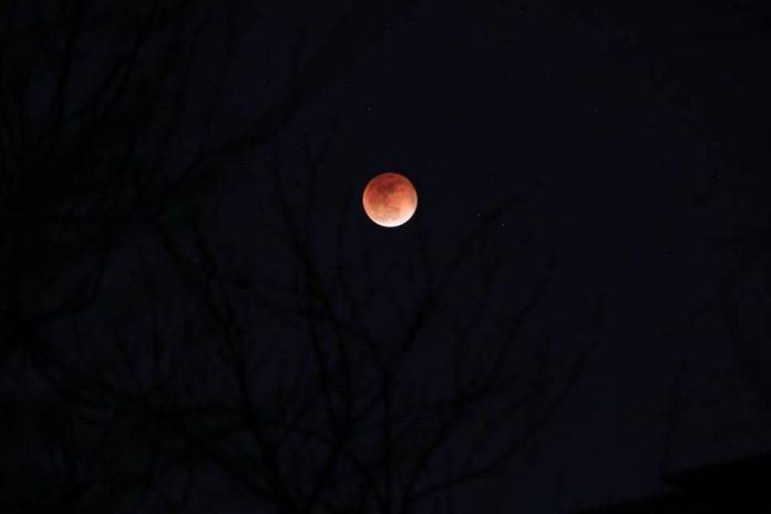 Кровавая Луна. Суперлуние