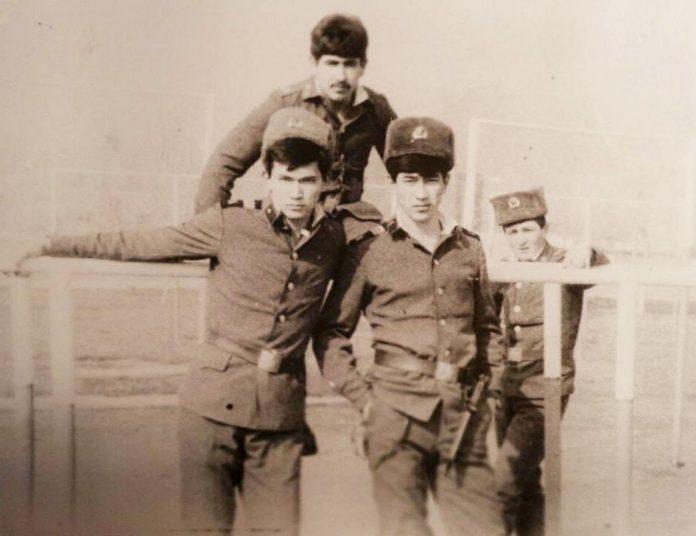 Нурлан Сапарбаев, армейское фото