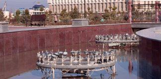 На поющем фонтане украли кабель
