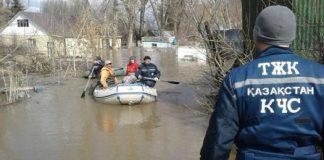 Угроза наводнения