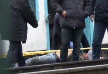 Тело на железной дороге