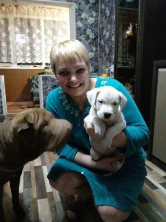 Елена Бояршинова с собаками