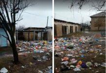 Свалка мусора в Аксукенте