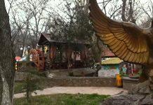 Парк Кен баба закрыт на ремонт