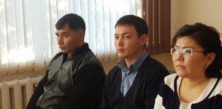 В зале суда Енбекшинского района