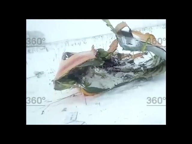 В самолете, разбившемся под Москвой, погиб уроженец ЮКО