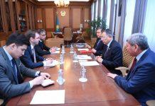 Аким ЮКО встретился с председателем ЕБРР