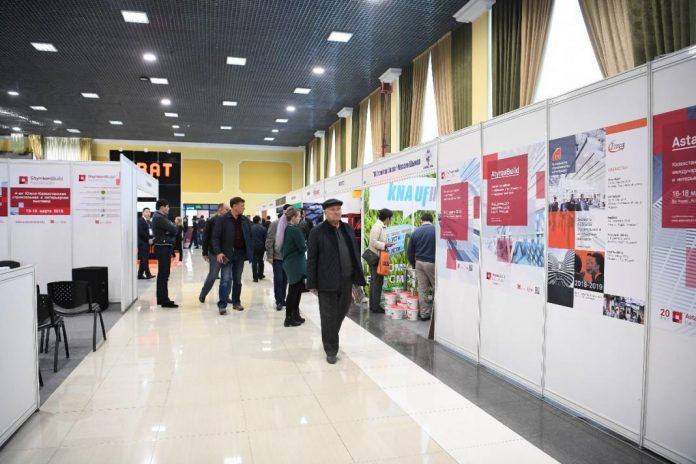 В Шымкенте открылась строительная выставка
