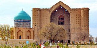 Мавзолей Х.А. Ясауи в Туркестане