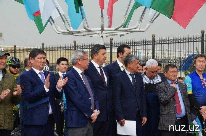 Веломарафон Ташкент-Шымкент