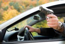 Расстреляли человека из машины