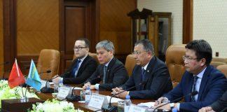Встреча акима ЮКО с китайской делегацией
