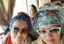 Алла Дикань и Татьяна Лунина в Тунисе
