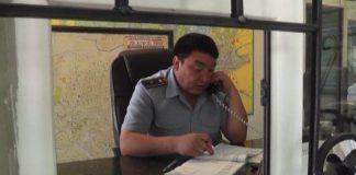 Полицейские г. Шымкента