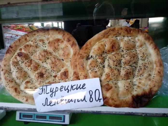 Какие лепешки можно купить на базаре Шымкента