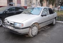 Угонщик украл и разбил авто