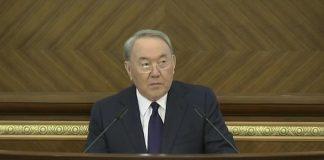 Назарбаев выступил с обращением
