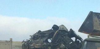 Фотография с места аварии