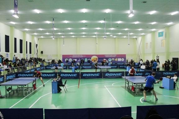 В Шымкенте завершился Международный юношеский турнир по настольному теннису