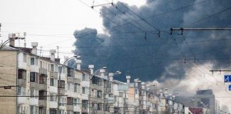 Пожар в Кемеровов
