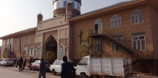 Мечеть в селе Карабулак