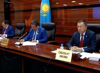 Сессия Южно-Казахстанского областного маслихата