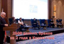 За последние 2 года в Казахстане заключено 2500 ранних браков
