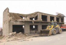 Снос частного строения в Шымкенте