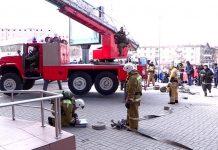 На железнодорожном вокзале Шымкента тушили пожар