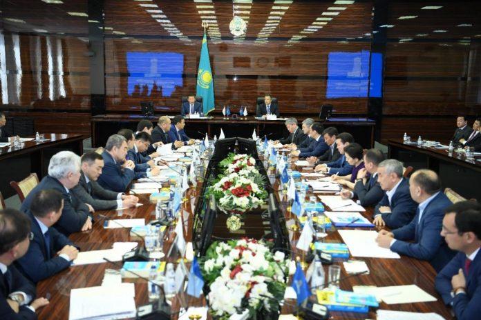 Председатель Президиума Национальной палаты предпринимателей РК «Атамекен» Тимур Кулибаев прибыл с рабочим визитом в ЮКО