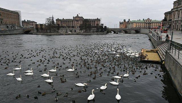 Центральная часть Стокгольма (Швеция)