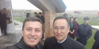 Селфи с Аскаром Мырзахметовым