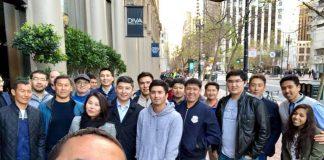парень из ЮКО работает таксистом в Сан-Франциско