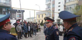 Без помощи соседей участковым в Шымкенте не справиться