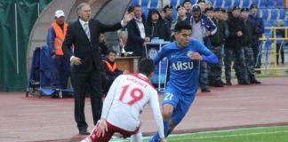 Шымкентский «Кыран» выиграл «Алтай» из Семея 1:0