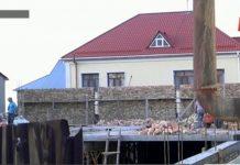 строительство тойханы в микрорайоне Самал