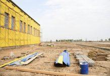 стройка домов в Отырарском районе