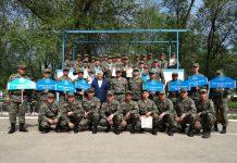 В Шымкенте выбрали самых метких стрелков национальной гвардии