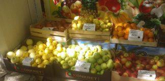 Фрукты и овощи необычных «сортов» продают на рынках Шымкента