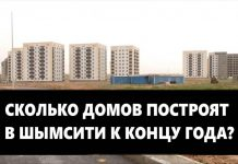 К 2025 году число жителей Шымкент-Сити составит 60 тысяч человек