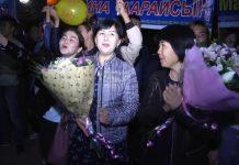В Шымкенте торжественно встречали победителей Чемпионата Азии по боксу среди молодежи
