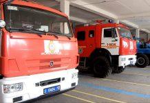 Пожарные спецмашины