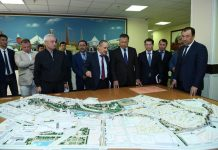 """Аким ЮКО внес поправки в масштабный проект """"Shymkent City"""""""