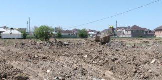 Человеческие останки обнаружены на стройке в Шымкете