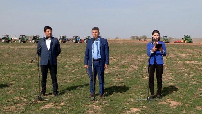 Чиновники из минсельхоза вышли на поля
