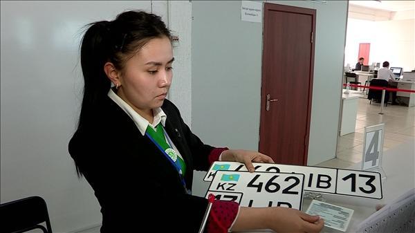 Новый спецЦОН в Туркестане, номера авто