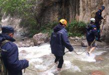 Спасательная операция в горах ЮКО