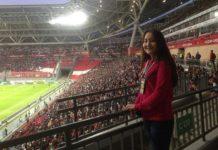 Студентка из Шымкента стала волонтером ЧМ-2018