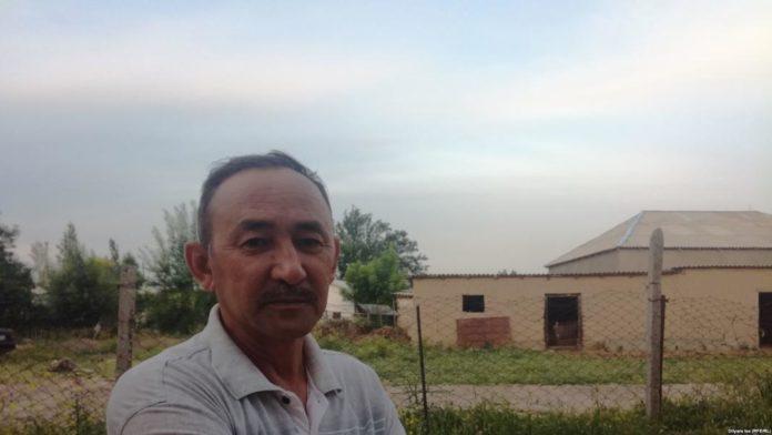 Абидулла Кусайынов, житель села Багыс, избранный «бием»